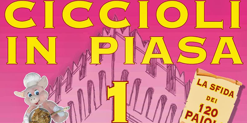 CICCIOLI IN PIASA, ARRIVANO LE TERME DEL COLESTEROLO !!!